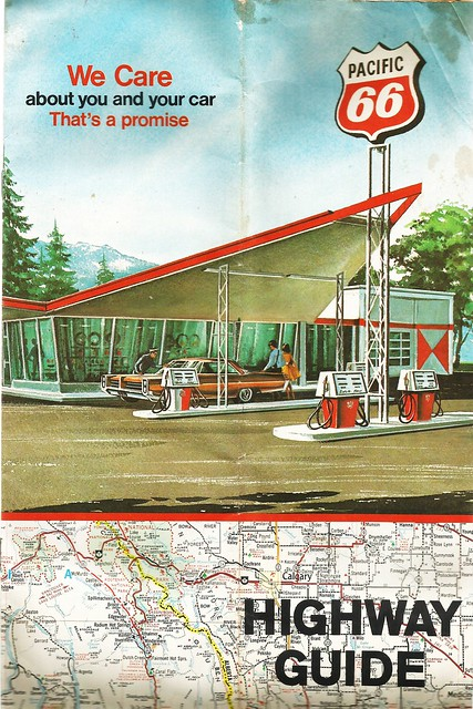 Pacific 66 Canadian Highway Guide, 1971