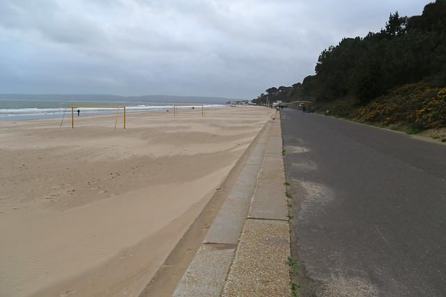 The beach at Canford Cliffs, Dorset