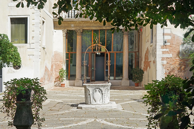 L'entrée arrière du palais Ca'Tron (Venise)