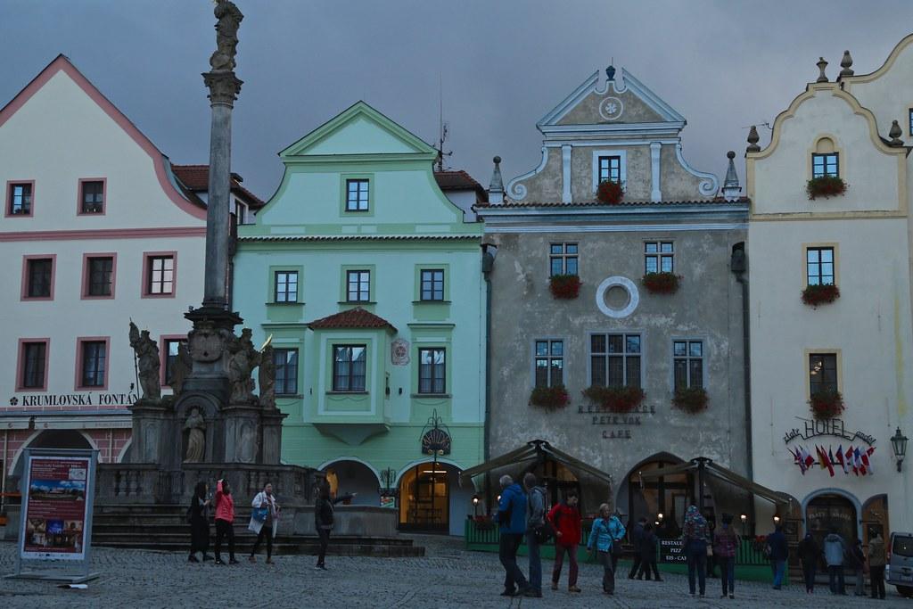 Town Square ~ Česky Krumlov at Dusk 03