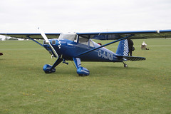 G-AJKB Luscombe 8E Silvaire Deluxe  Sywell 030911