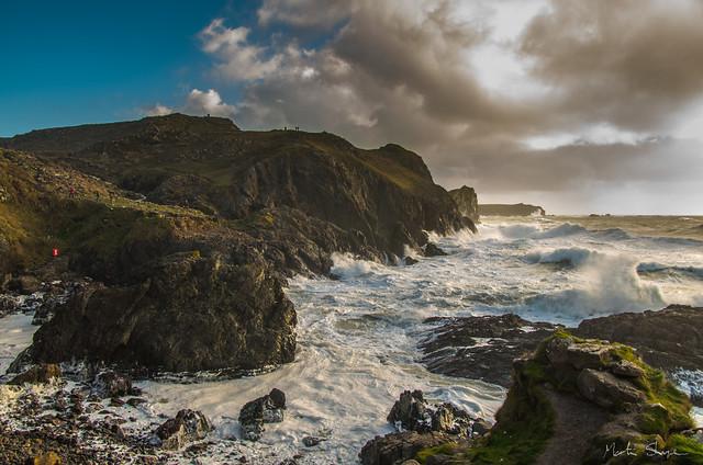 Stormy Cornwall
