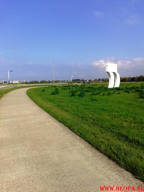 2015-10-09 Test wandeling 26 Km Oostvaarders  (4)