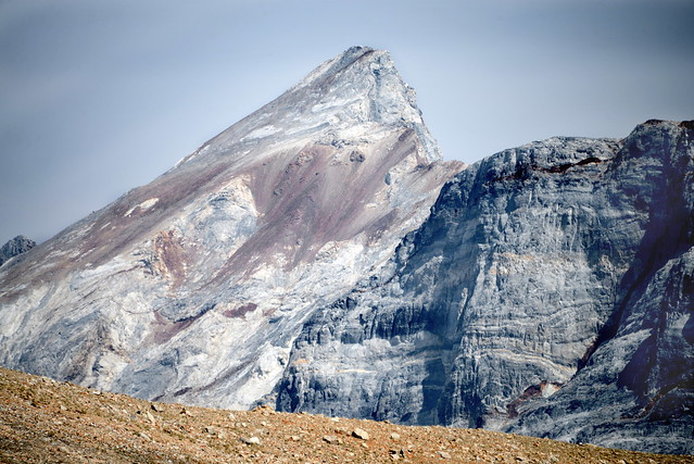 Mt Baldwin from McGee Pass, Sierra Nevada, California