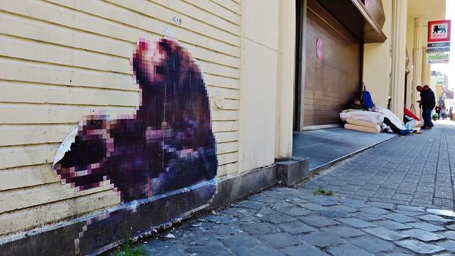 Pixel Man / Bruxelles - 30 sep 2015