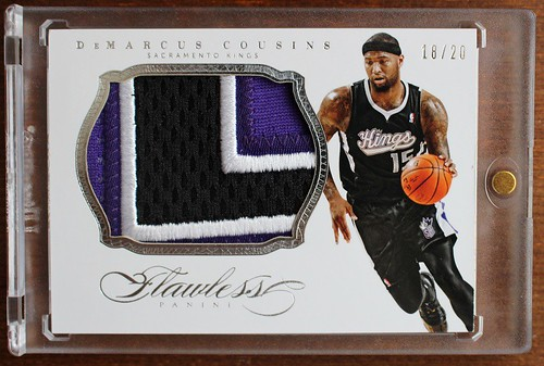 2013-14 Panini Flawless Patches #68 DeMarcus Cousins 20 | by milkowski.pawel
