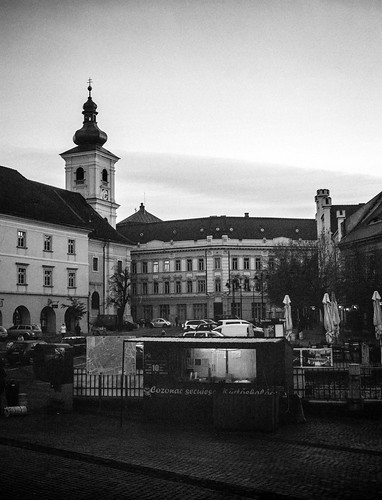 street sunset blackandwhite bw black 120 film monochrome mono blackwhite 645 fuji rangefinder romania push pushed 6x45 ilford sibiu delta400 selfdeveloped gs645 homemadesoup blackwhitephotos