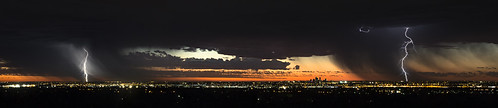 city sunset sky storm nature weather skyline clouds landscape lights scenery cityscape sony scenic australia lightning alpha tamron thunder zigzag westernaustralia 2470mm gooseberryhill a99 slta99 stevekphotography
