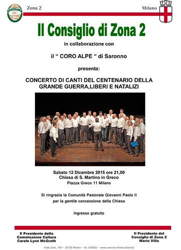 Concerto del 12 Dicembre 2015 | by Coro Alpe di Saronno