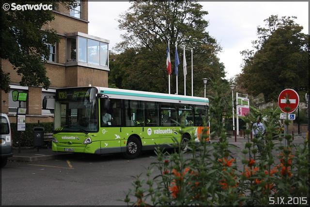 Heuliez Bus GX 127 - STIF (Syndicat des Transports d'Île-de-France) – Valouette n°465