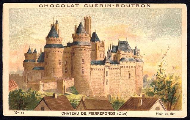 French Tradecard - Chateau de Pierrefonds