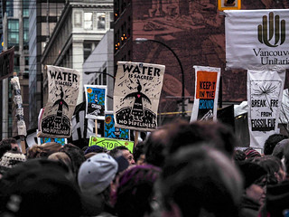 Water is Sacred - NO PIPELINES | by k3nt