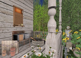 Serenity Style- Summer Camp Laundry | by Hidden Gems in Second Life (Interior Designer)