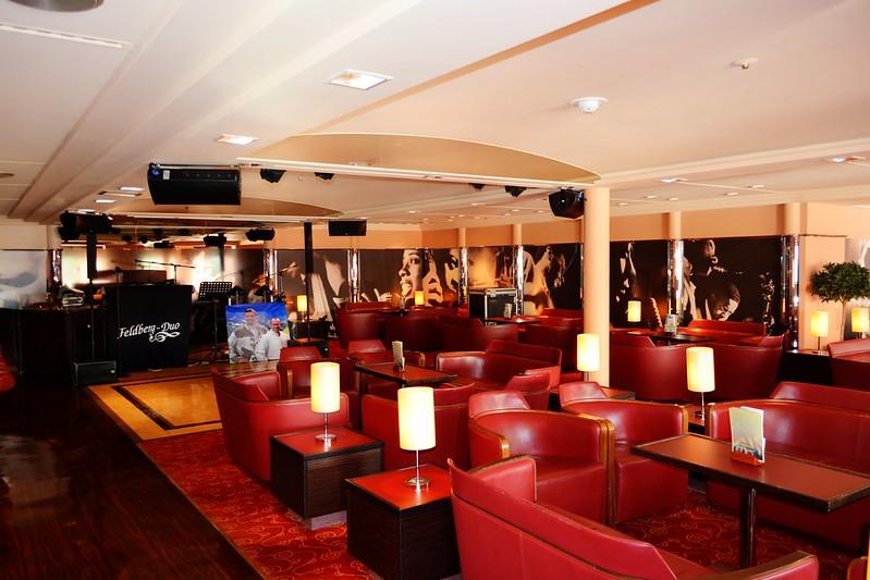 Piano-Bar - Visite du paquebot AMADEA - Bordeaux, 16 septembre 2015