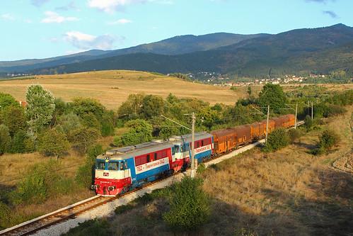 tbd tbdtp diesel locomotive freight cargo train coal electroputere 60 1128 601128 dragichevo bulgaria railway тбд влак локомотив товарен драгичево българия