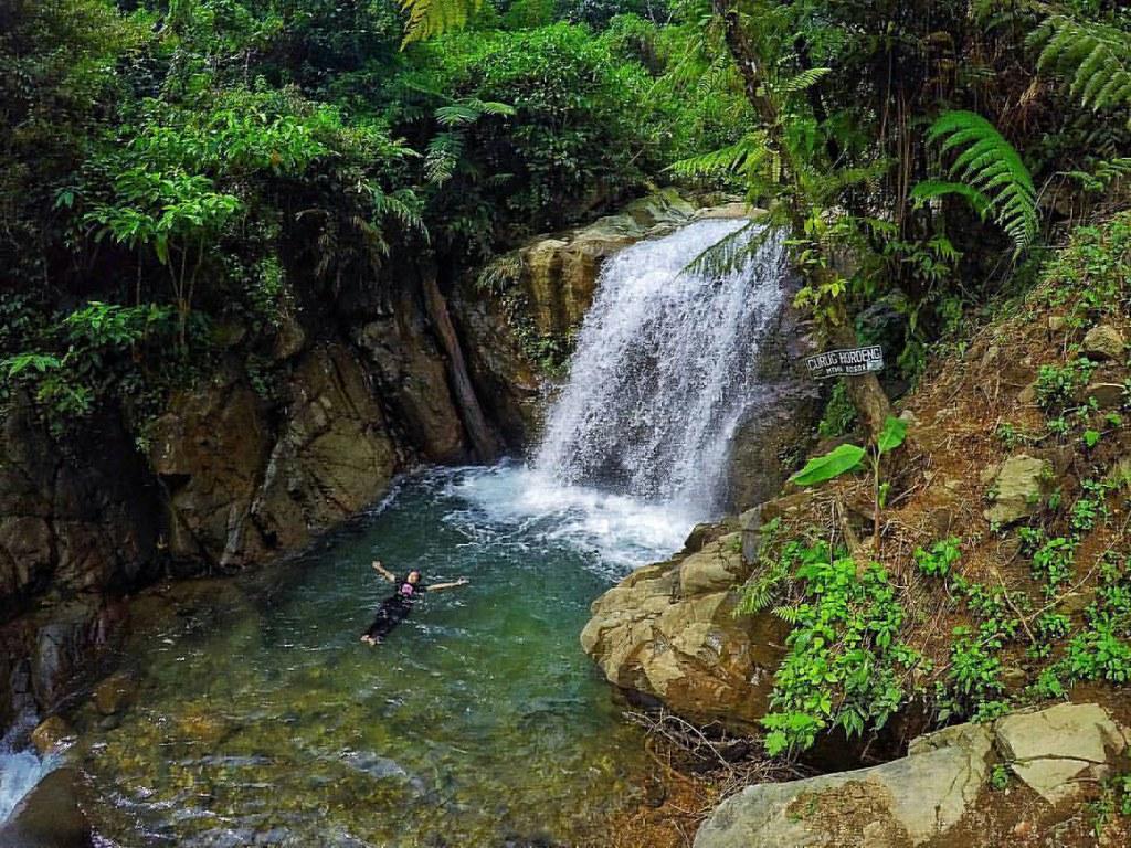 Curug hordeng terletak di desa Cibereum Cibadak  Sentul Bogor. untuk menuju ke Destinasi tersebut dapat melalui beberapa jalur. dari arah Jonggol   ( jonggol - Sukamakmur - Cibadak - Ciberuem ) dari Citerep ( Citerep - Tajur - Cibadak - Cibereum ) atau da