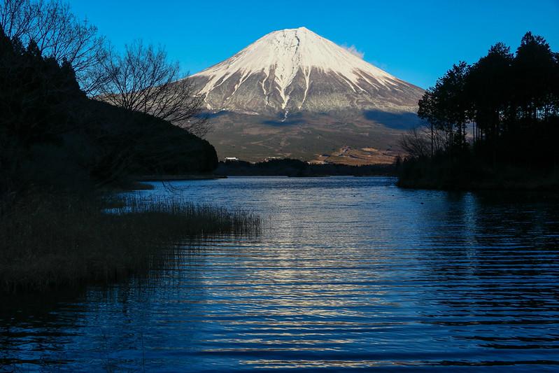 逆さにならない富士山