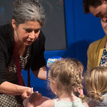 Illustrator in Residence Debi Gliori | Illustrator in Residence Debi Gliori gives her young audience the tools to get creative themselves © Alan McCredie