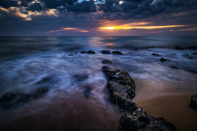 Dark mood - Brighton beach
