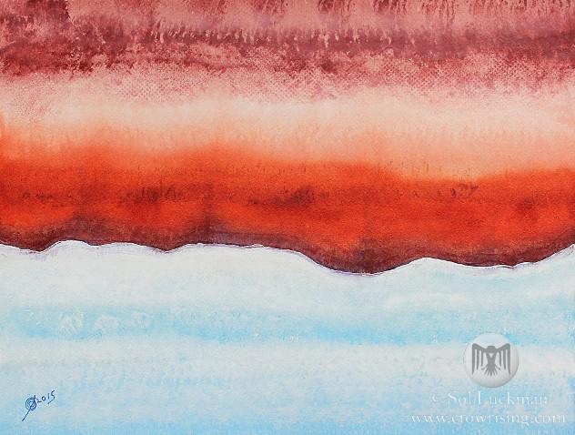 Northern Exposure (original painting)