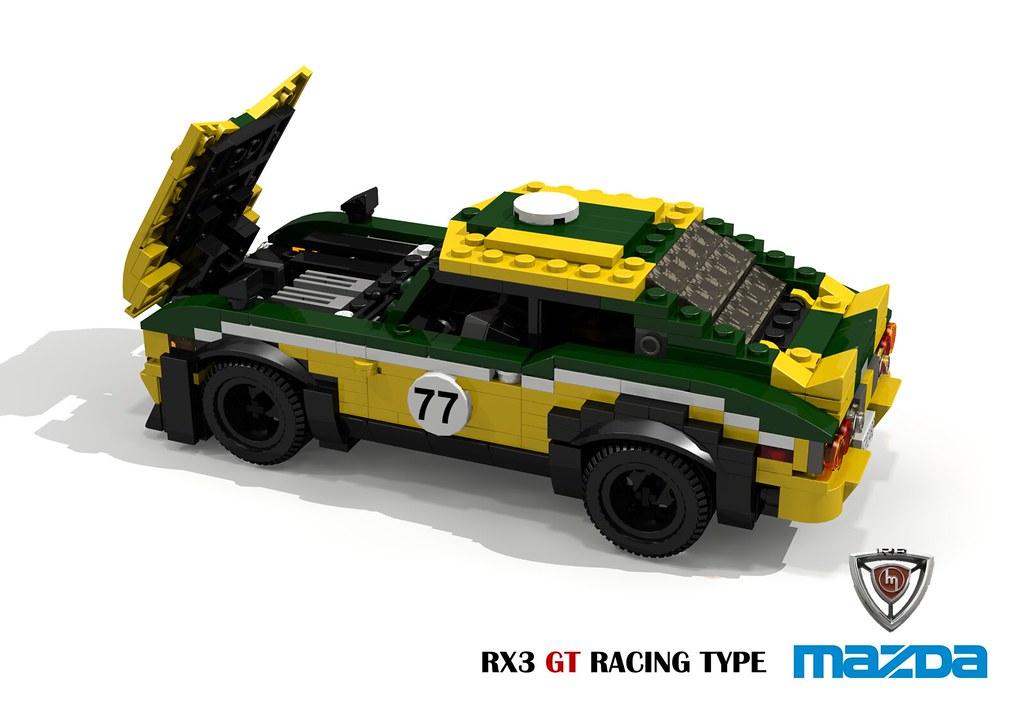 Mazda RX3 GT Racing Type (Fujimi)   The name Mazda Savanna