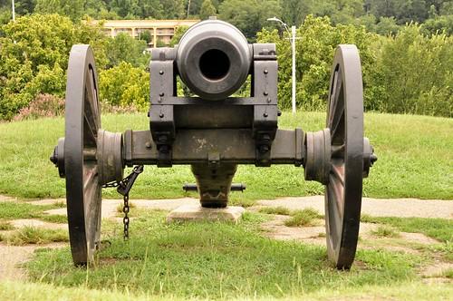 Union Artillery, siege of Vicksburg, American Civil War