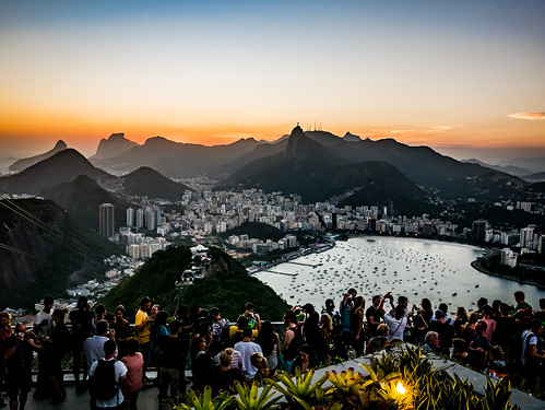 rio brazil riodejaneiro sugarloaf paodeacucar guanabara sunset view cidademaravilhosa carioca brasile tramonto