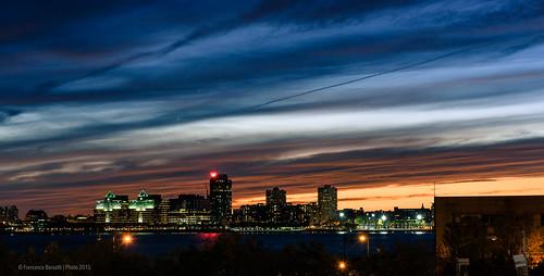 sunset sky newyork us unitedstates