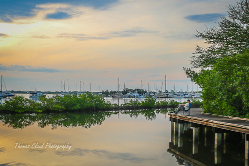 sun sunset sky clouds cloudy shepardspark park boardwalk boats marina nature seascape sailboats outdoors outside