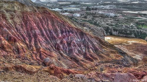 minería airelibre mazarrón colores paisaje