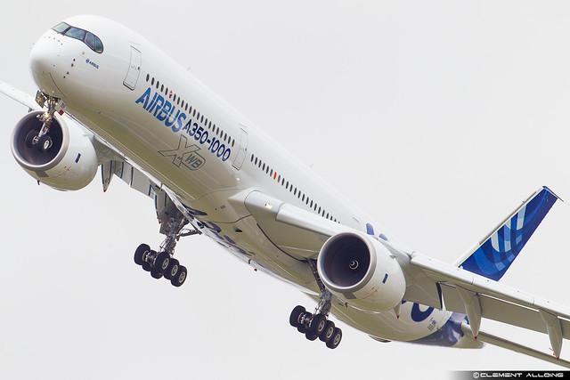 Airbus Industrie Airbus A350-1041 cn 059 F-WMIL