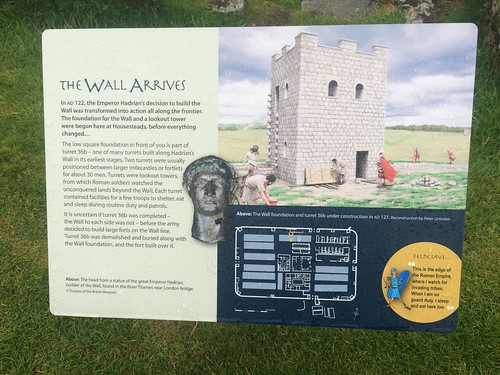 Housesteads Roman Fort.