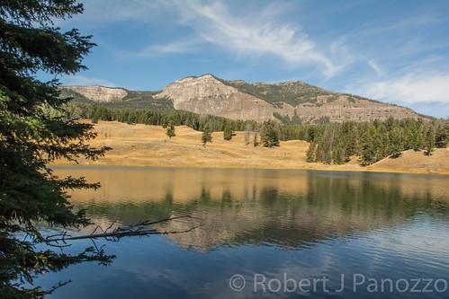 landscape yellowstonenationalpark yellowstone troutlake