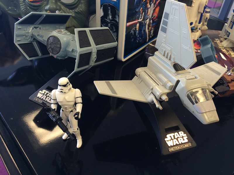 Stormtrooper and imperial spaces vehicles