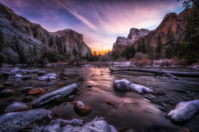Winter Yosemite Sunrise