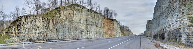 Highway 52 rock cut, Clay County, Tennessee 2