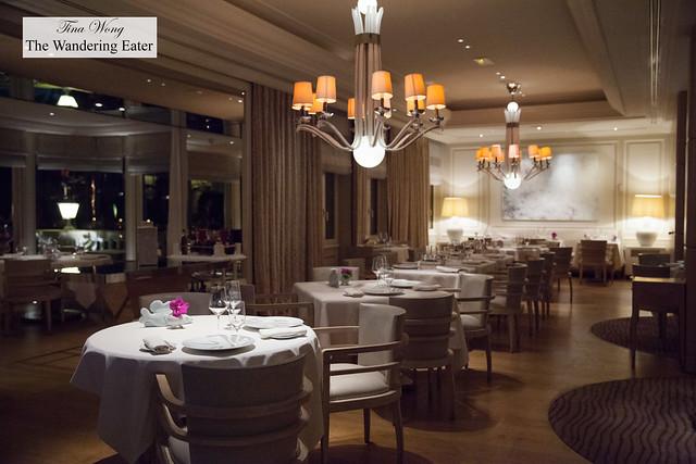 Dining room of Le Vistamar