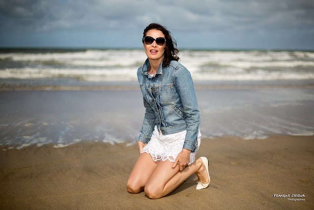 Gersende - On the beach