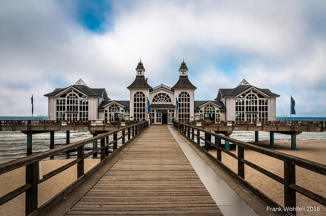 Seebrücke Selin