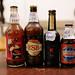 Selction of old beer bottles