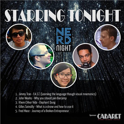 Nerd Night Phnom Penh | by john@comicslifestyle