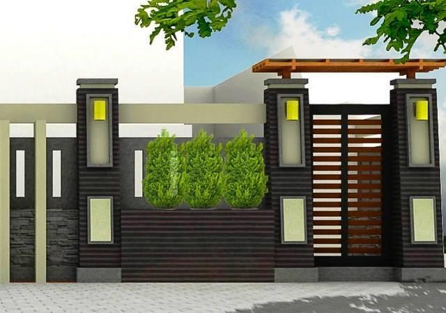 Desain Pagar Rumah Minimalis Agar Terkesan Mewah Tampilan Flickr