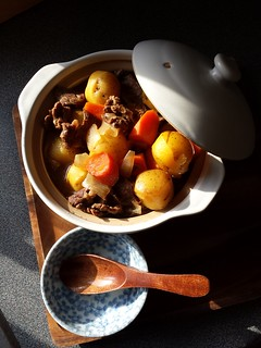 Nikujaga: Japanese Beef Potato Stew | by ComeUndone