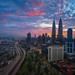 Sunrise in Kuala Lumpur by Nur Ismail Photography