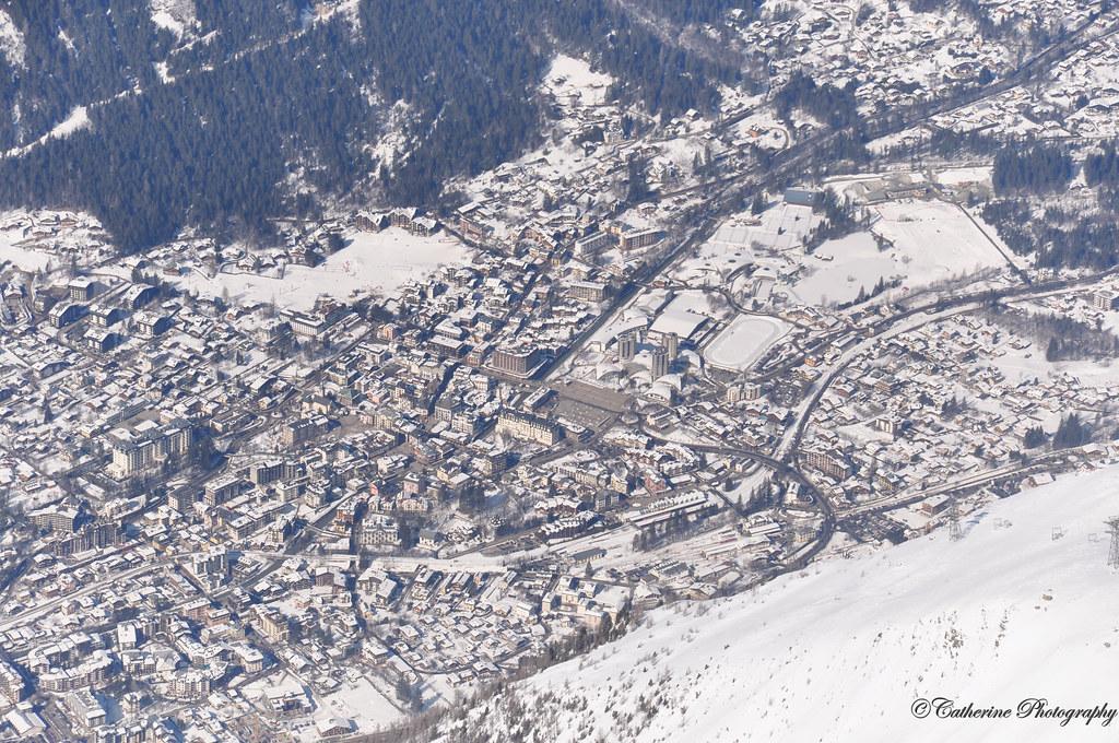 Valley of Aiguille Du midi