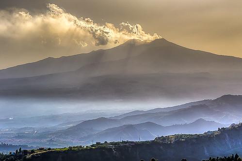 italy hdr sicilia setembre 2015 monteetna