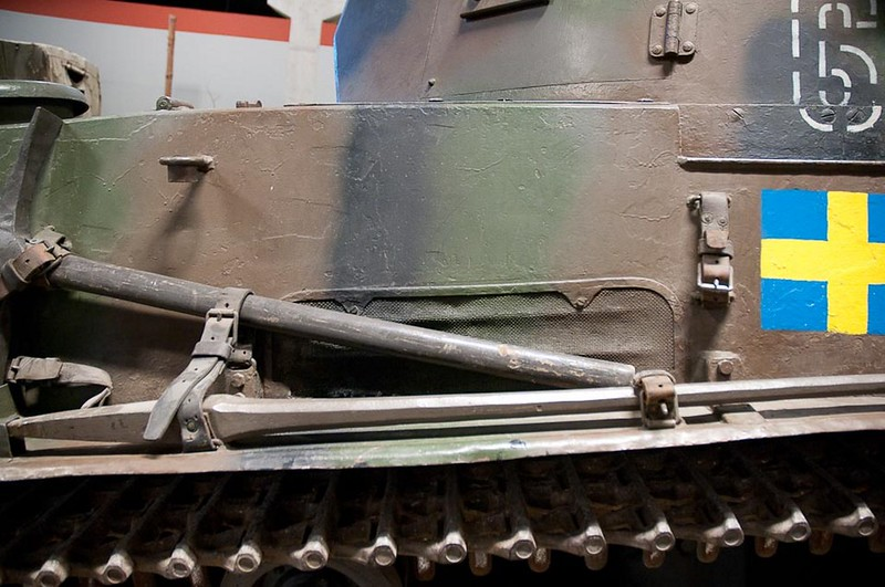 Stridsvagn m-38 3