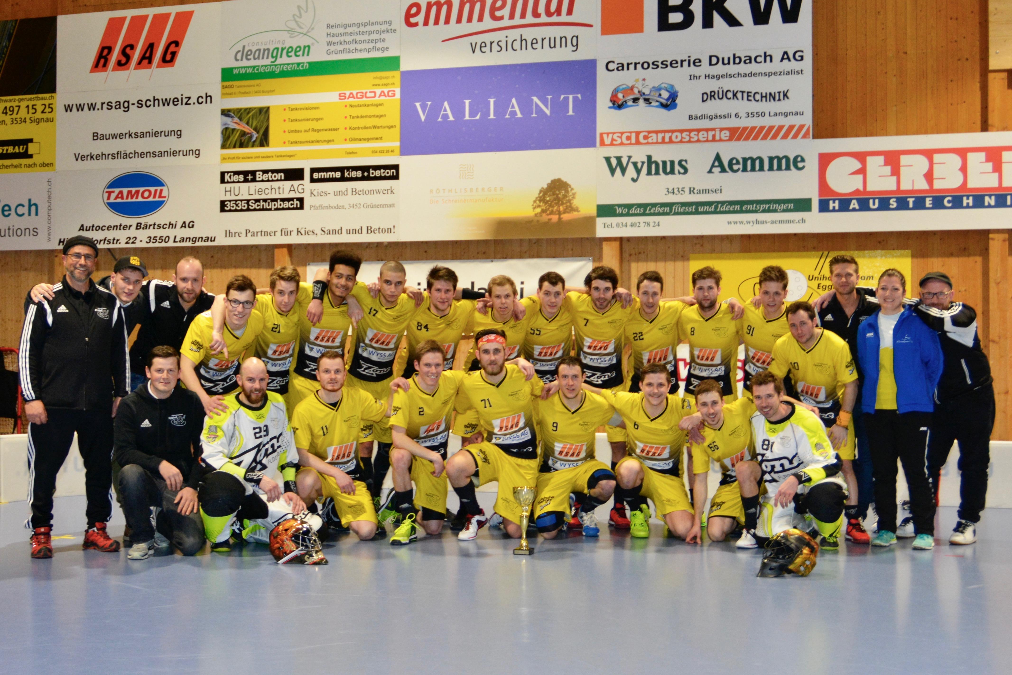 Herren I - Lions Konolfingen Saison 2016/17