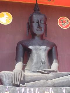 Buddha aus Bast