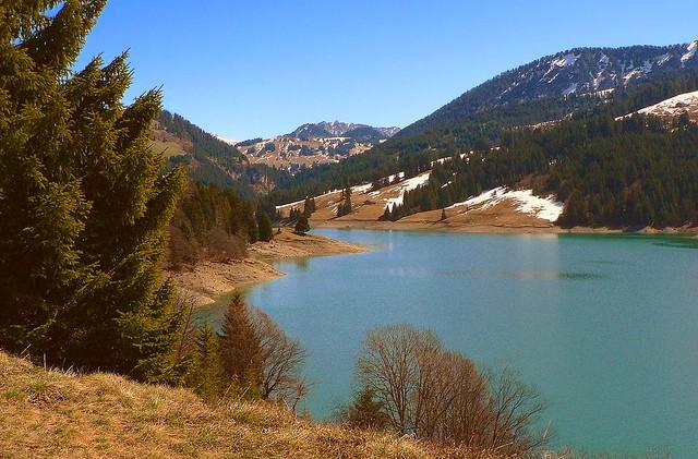SWITZERLAND - Hongrin Lake